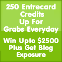 2590 Entrecard New Year Greeting