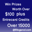 Make lots of prizes at Bloganol